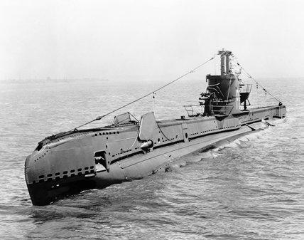 HM Submarine STONEHENGE, June 1943.