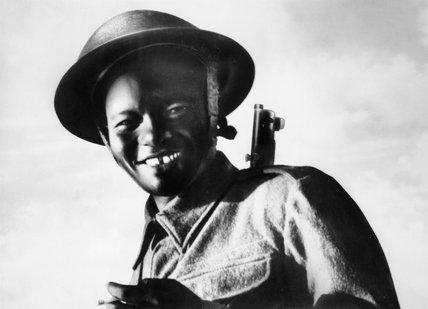 Portrait of 'Kisarishu', a soldier in the East African Pioneers, September 1943.