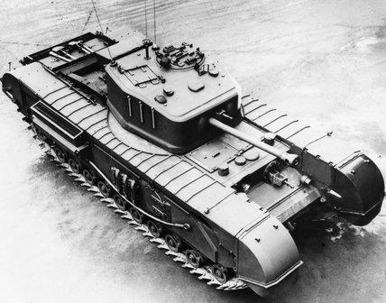 Infantry tank Mk IV - Churchill Mk VII