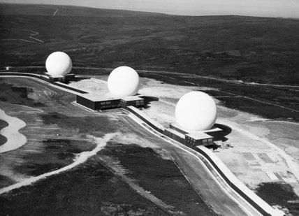 The ballistic missile early warning radar station at RAF FYLINGDALES, 16 September 1963