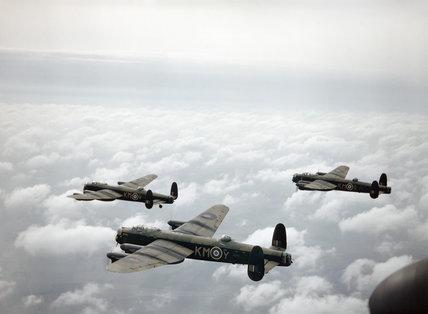 Avro Lancaster Mk Is of No. 44 Squadron RAF, 29 September 1942.