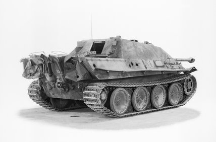 German Jagdpanther tank destroyer.