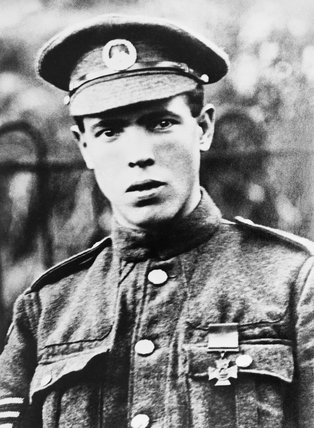 Sergeant Ivor Rees of the 11th Battalion, South Wales Borderers, awarded the Victoria Cross for capturing a German machine gun and pillbox at Pilckem on 31 July 1917, during the Third Battle of Ypres.