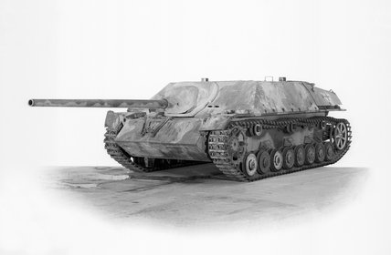 German Panzer IV/70 (V) tank destroyer. Also known as the Jagdpanzer IV.