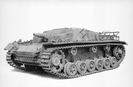 German Sturmgeschütz III Ausf C/D assault gun.