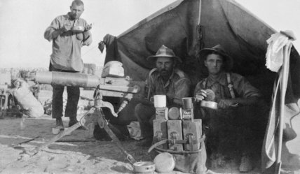 The Natal Mounted Rifles in German South West Africa.