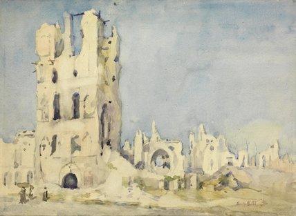 The Broken Transept: St Martin's, Ypres