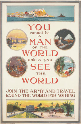 You Cannot be a Man of the World Unless you See the World