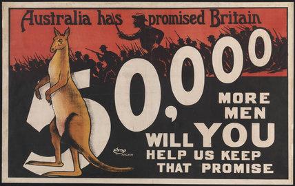 Australia has Promised Britain 50,000 More Men