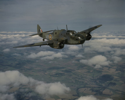 Beaufort Mark I, L9878 'MW-R', of No.217 Squadron RAF.