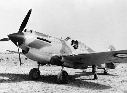 Curtiss Tomahawk Mark IIB (named
