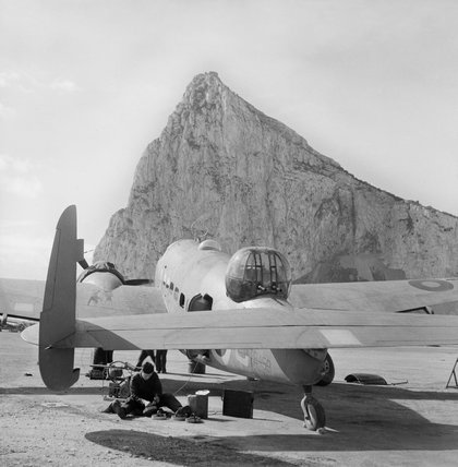 Hudson III T9459, part of No 233 Squadron's detachment at North Front airfield.
