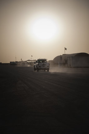 Camp Bastion, Afghanistan, 2012