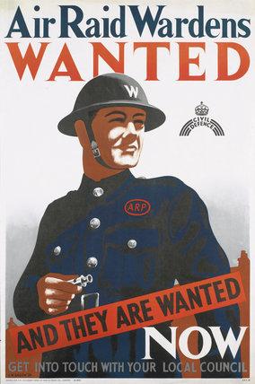 Air Raid Wardens Wanted
