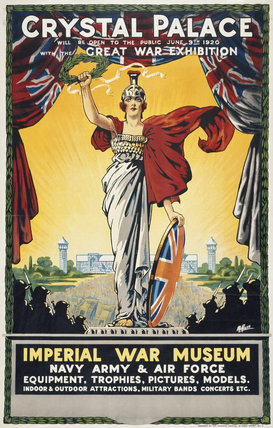 Crystal Palace - Great War Exhibition - Imperial War Museum.