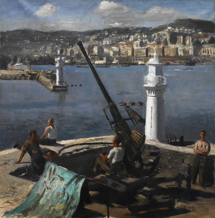 'A Bofors Gun, Algiers'