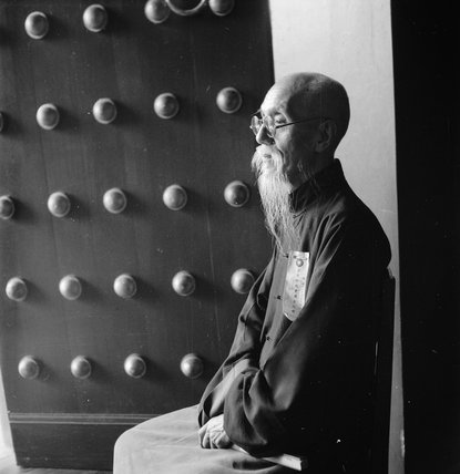 Chow Chung-Yeo, Chinese scholar and former Minister of the Interior at Chengtu, Szechuan, China, 1944