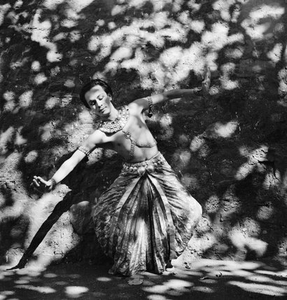 The classical Indian dancer Ram Gopal in Bombay, India, 1944.  His dance company had thrilled London audiences in 1939