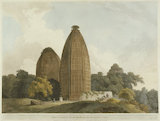 Hindoo Temples at Bindrabund on the River Jumna