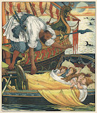 The Corsair rescues the Children