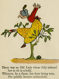 'There was an Old Lady whose folly induced her to sit in a holly..'