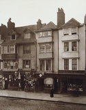 Old Houses in Borough High Street, Southwark