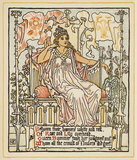 Between their banners white & red ...', from Walter Crane's 'Queen Summer, or the Tourney of the Lily & the Rose', London [&c.]: Cassell & Co., 1891