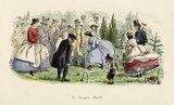 A Croquet Match