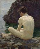 July Sun; Nude Study in Sunlight