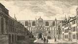 View of Guildhall, City of London; Guild Hall', from Robert Dodsley's, 'London and its environs described',  London: Benjamin Green., [1761]