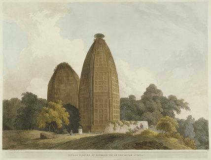 Hindoo Temples at Bindrabund on the River Jumna
