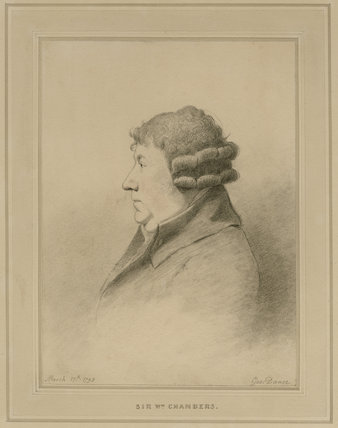Portrait of Sir William Chambers, R.A.