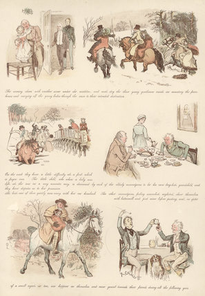 The Curmudgeons' Christmas [IV] from 'The Graphic Christmas Number'