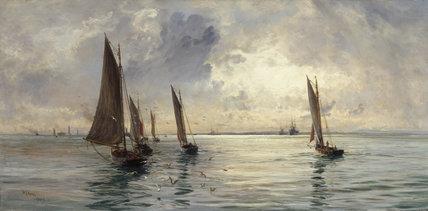 'The Portsmouth Fishing Fleet...'