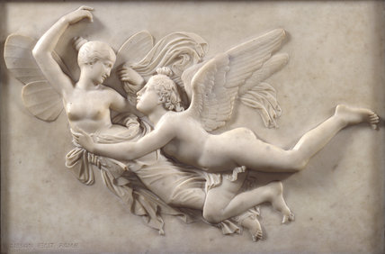 Cupid pursuing Psyche