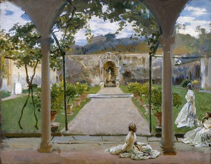 At Torre Galli: Ladies in a Garden