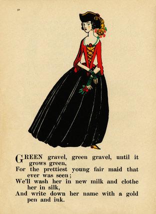 Green gravel, green gravel...