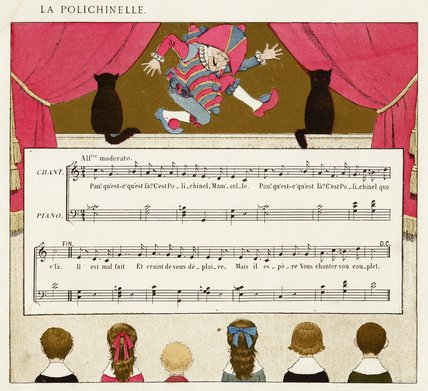 La Polichinelle [score]; from 'Vieilles chansons pour les petits enfants avec accompagnements de Ch. M. Widor', 1884