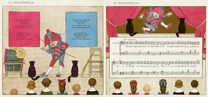La Polichinelle; from 'Vieilles chansons pour les petits enfants avec accompagnements de Ch. M. Widor', 1884