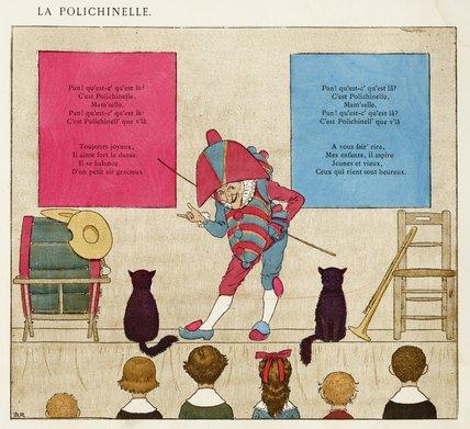 La Polichinelle [lyrics]; 'Vieilles chansons pour les petits enfants avec accompagnements de Ch. M. Widor', 1884
