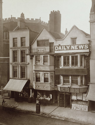 Old Houses, Fleet Street