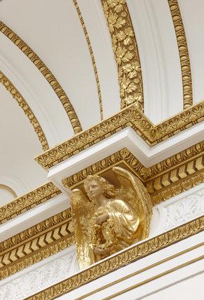 Gallery III detail, Royal Academy of Arts, 2010