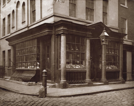 Shop in Brewer Street, Soho