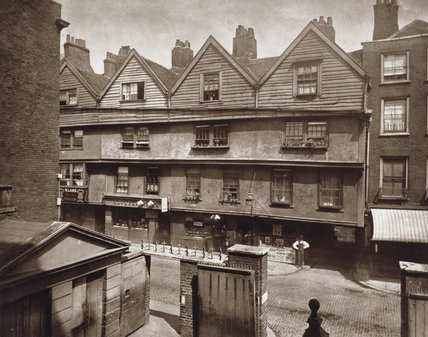 Old Houses in Gray's Inn Lane