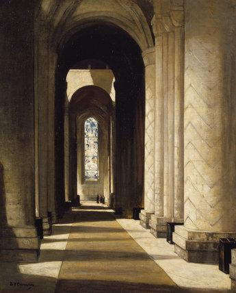 Interior of Durham Cathedral