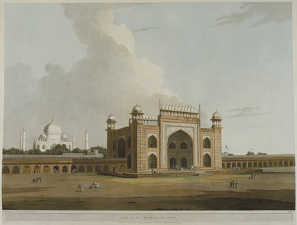 The Taje Mahel, at Agra