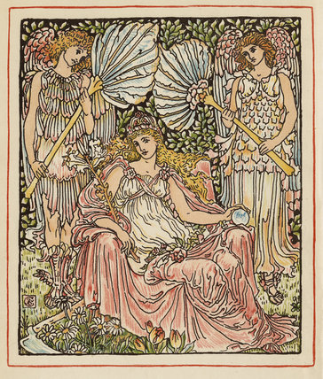 When Summer on the earth was queen ...', from 'Tourney of the Lily & the Rose', London [&c.]: Cassell & Co., 1891