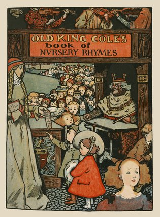 Title Page from 'Old King Cole's Book of Nursery Rhymes', London, [1901]