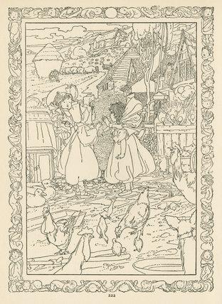 Little Boy Blue; Walter Jerrold (ed.), 'The big book of nursery rhymes', London: Blackie & Son Ltd., [1903]