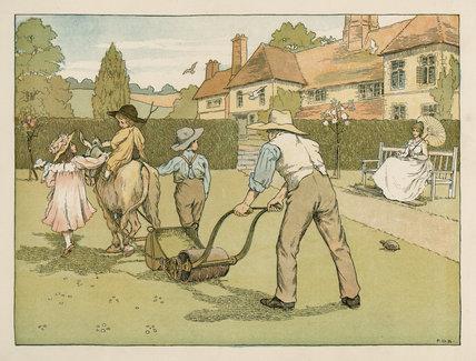 Gardener' from E. V. Lucas's, 'Four and twenty toilers', London: Edmund Evans; Grant Richards, [1900]